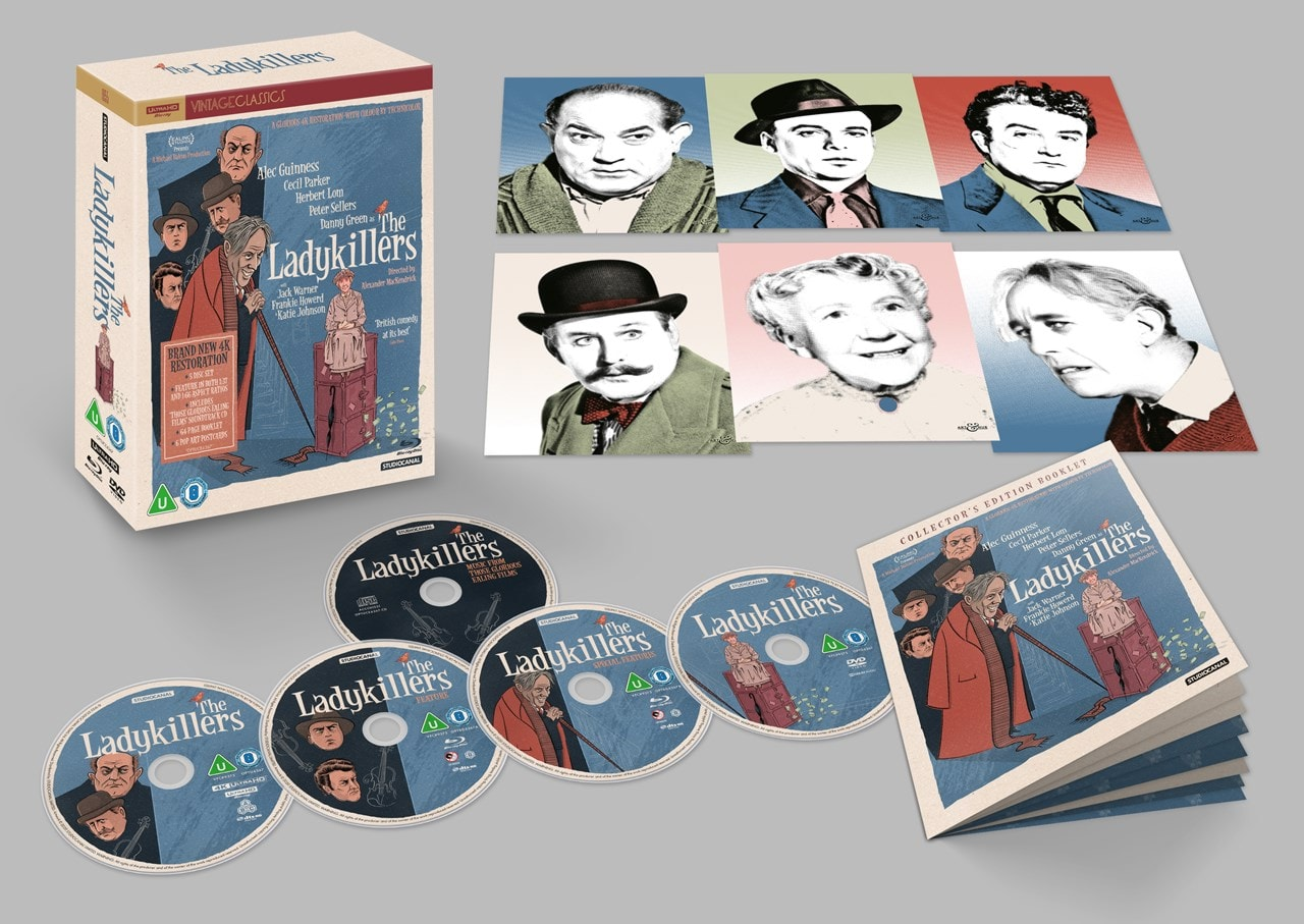 The Ladykillers 4K Ultra HD Collector's Edition - 1