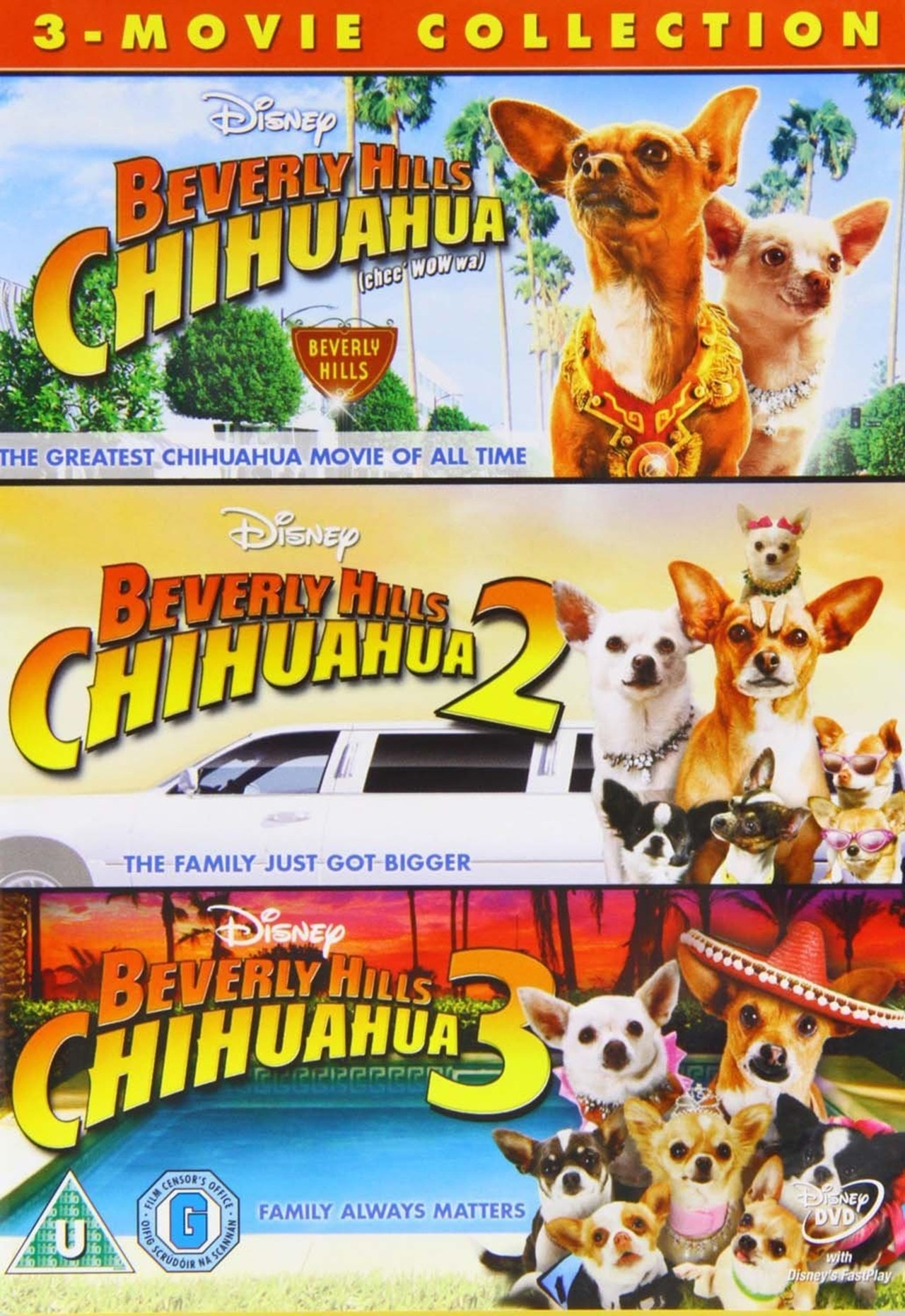 Beverly Hills Chihuahua: 3-movie Collection - 1