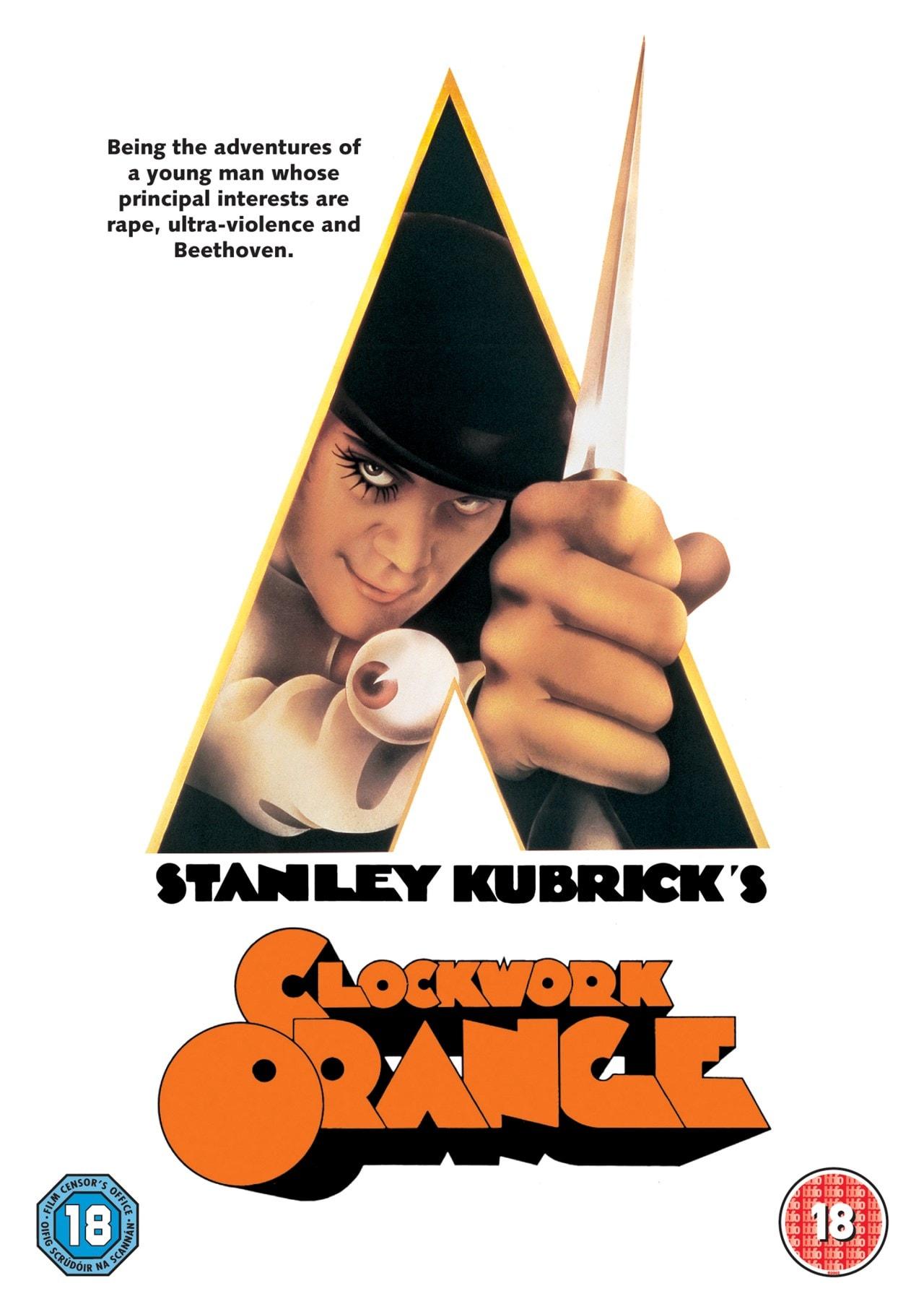 A Clockwork Orange | DVD | Free shipping over £20 | HMV Store
