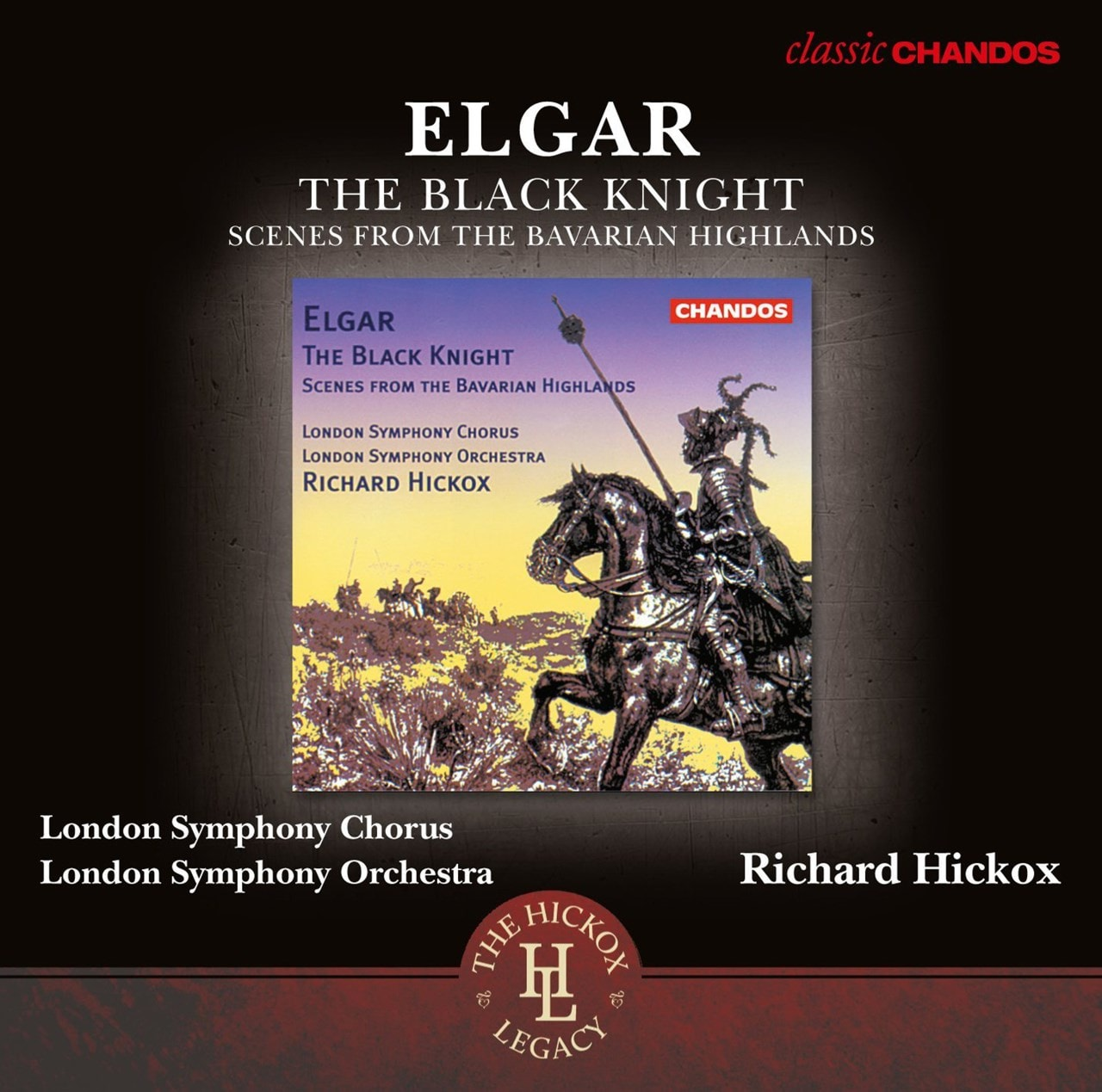 Elgar: The Black Knight/Scenes from the Bavarian Highlands - 1