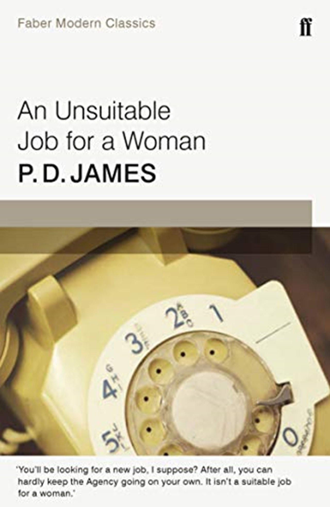 An Unsuitable Job For A Woman - 1