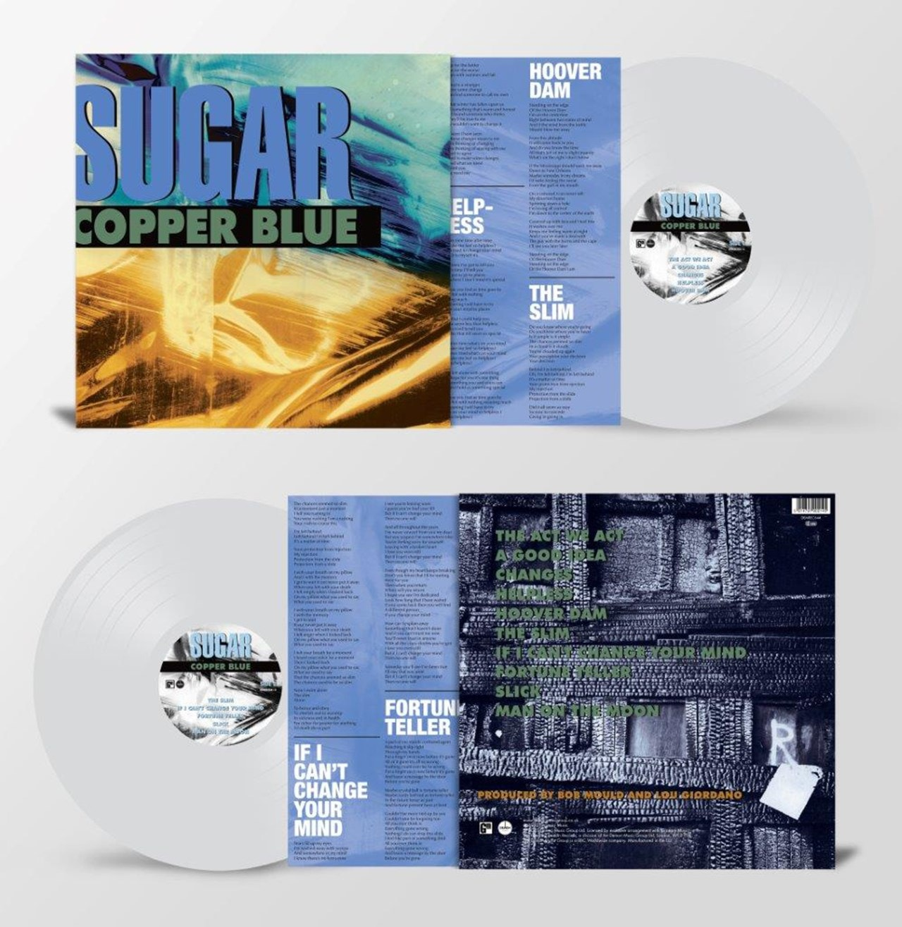 Copper Blue - Limited Edition Clear Vinyl - 1