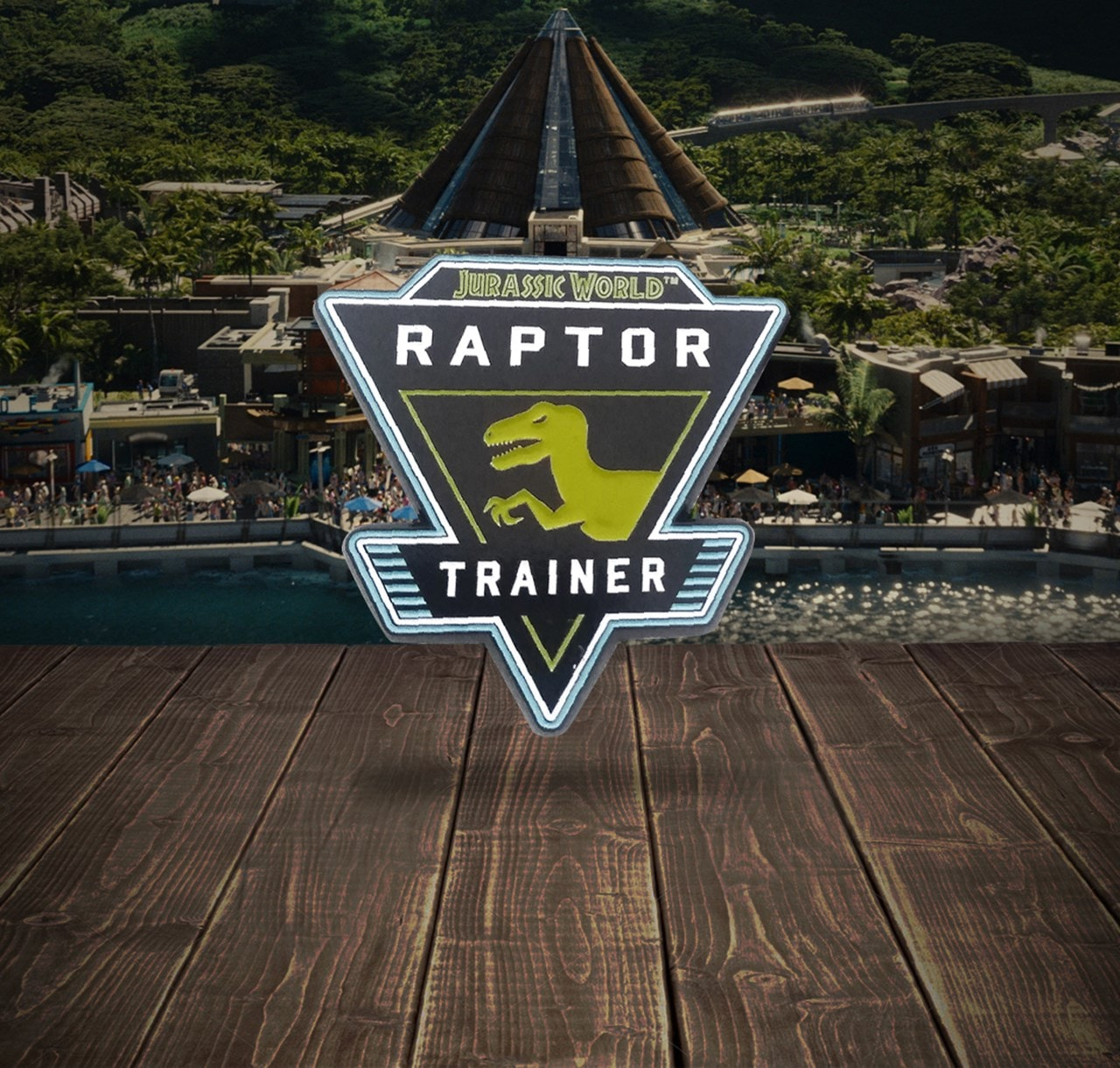 Jurassic World: Rapture Trainer Pin Badge - 3