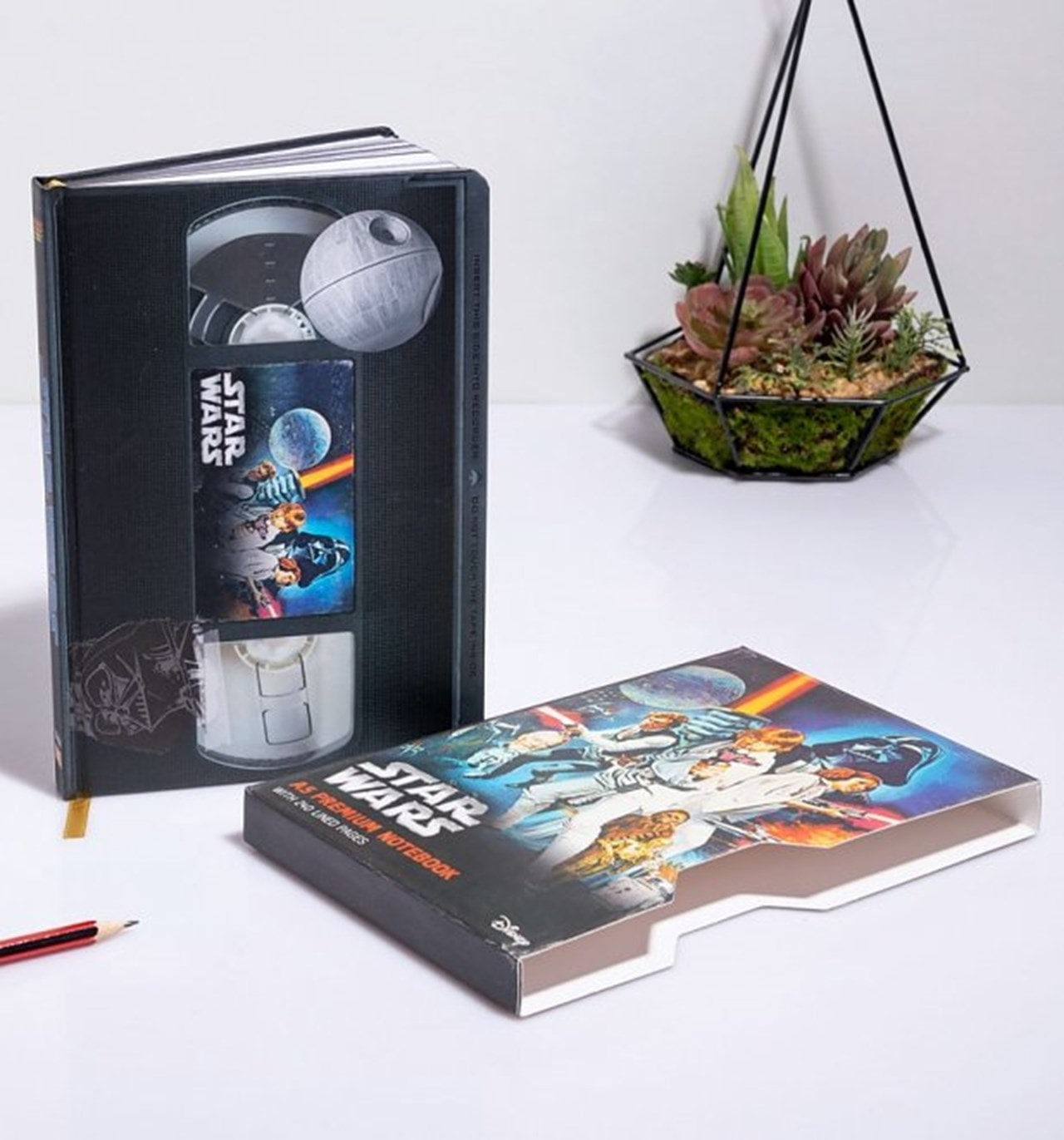 Star Wars (A New Hope) VHS Premium A5 Notebook - 1