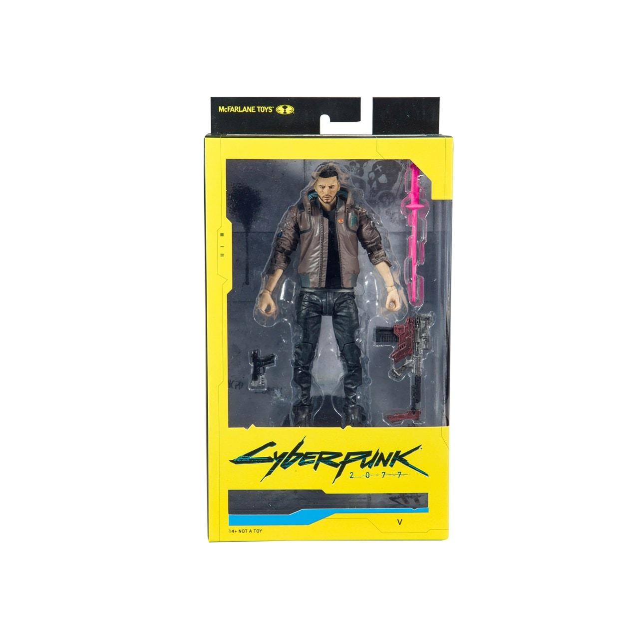 Cyberpunk 2077: V Male Figurine - 5