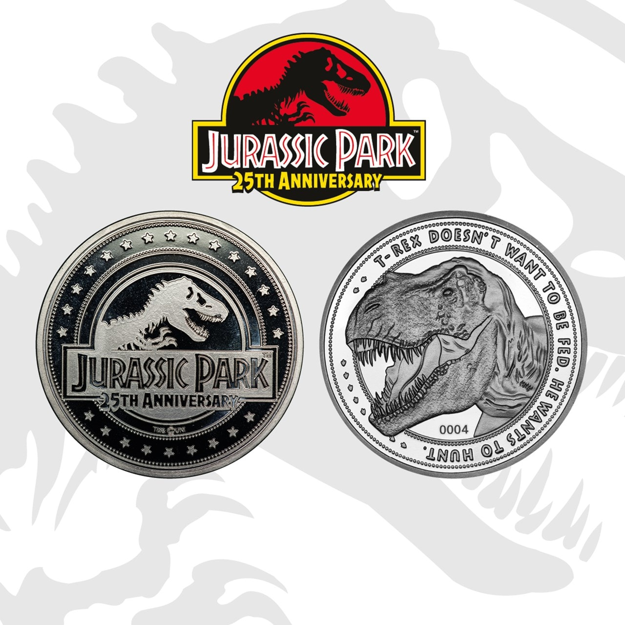Jurassic Park Limited Edition Coin - 1