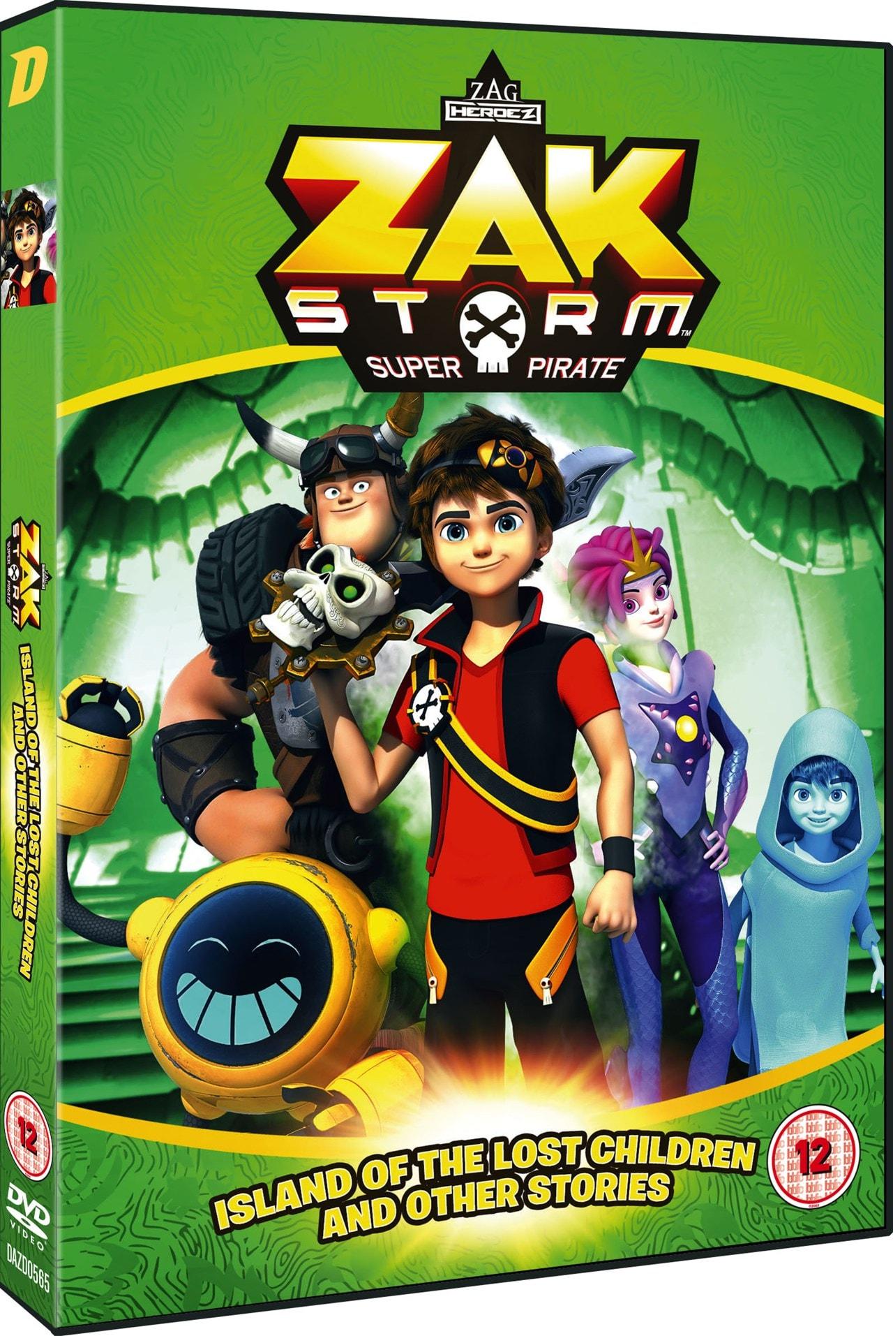 Zak Storm: Super Pirate - Island of the Lost Children And... - 2