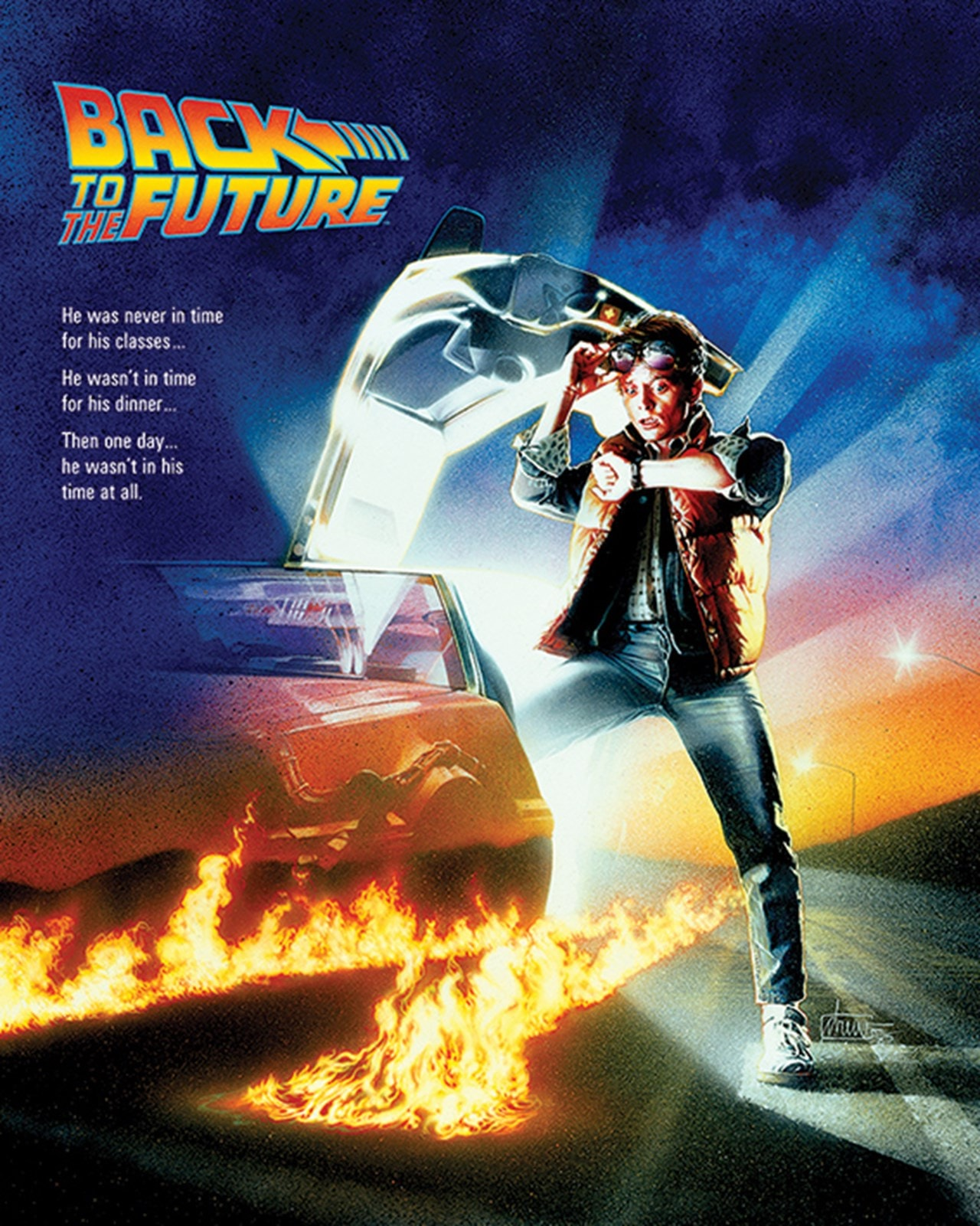 Back To The Future: One Sheet Canvas Print - 1