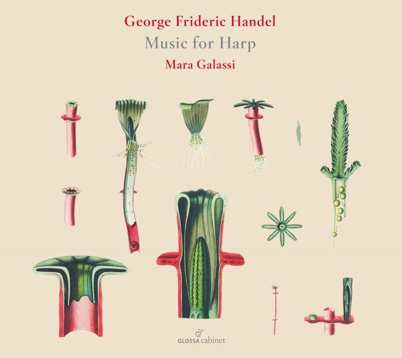 George Frideric Handel: Music for Harp - 1