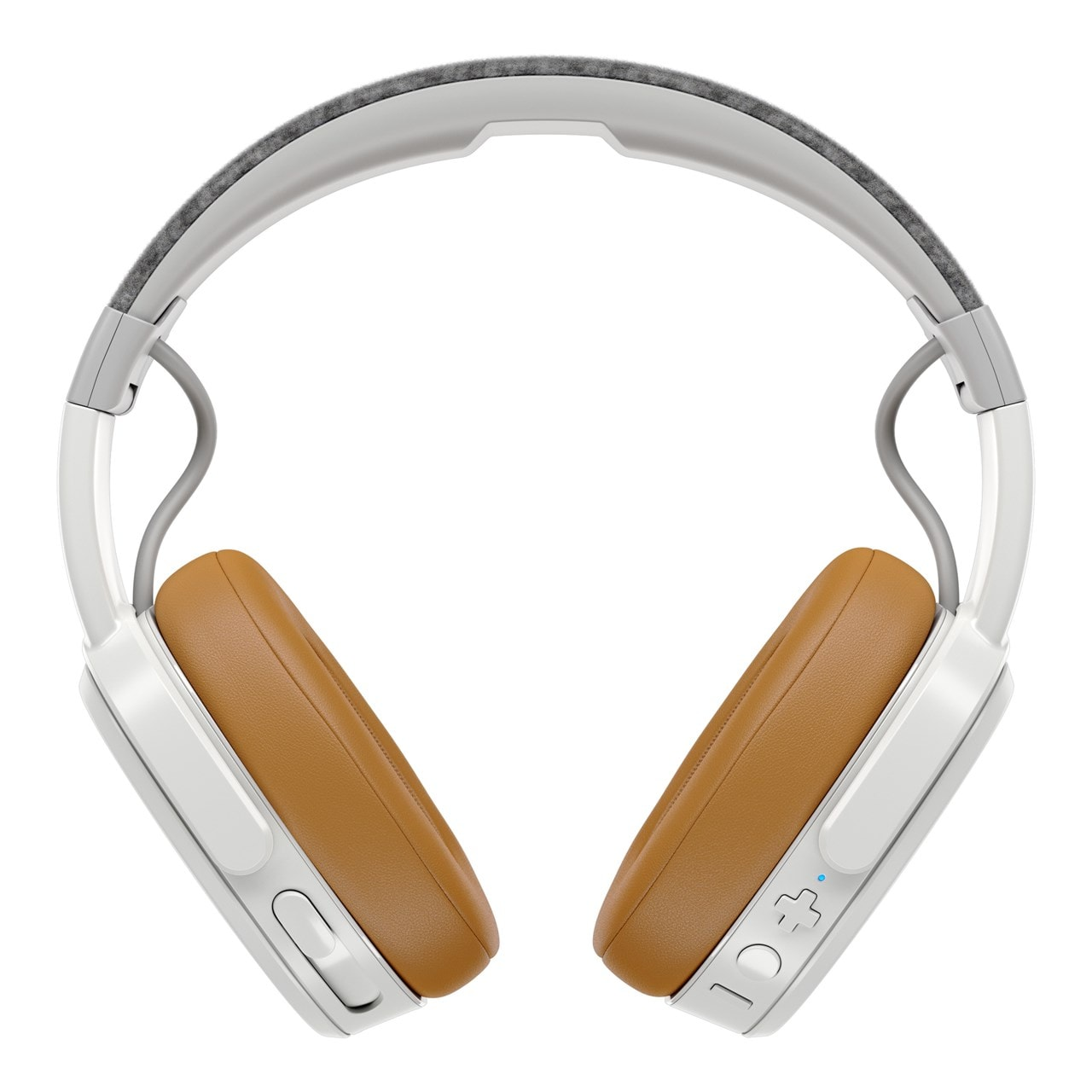 Skullcandy Crusher Grey/Tan Bluetooth Headphones - 1