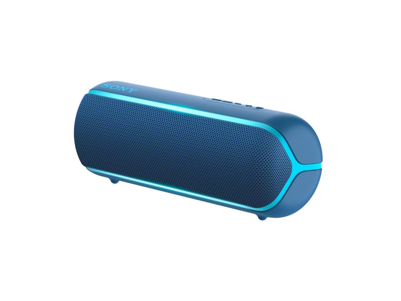 Sony SRSXB22 Blue Bluetooth Speaker - 2