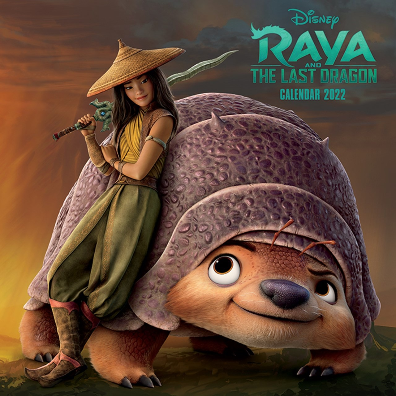 Raya and the Last Dragon: Square 2022 Calendar - 1