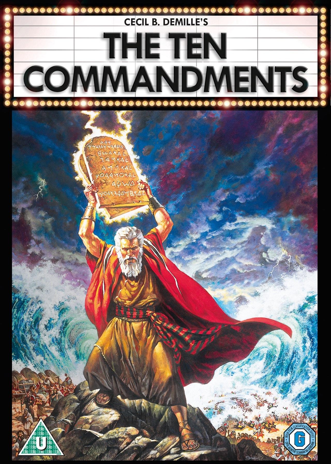 The Ten Commandments - 1