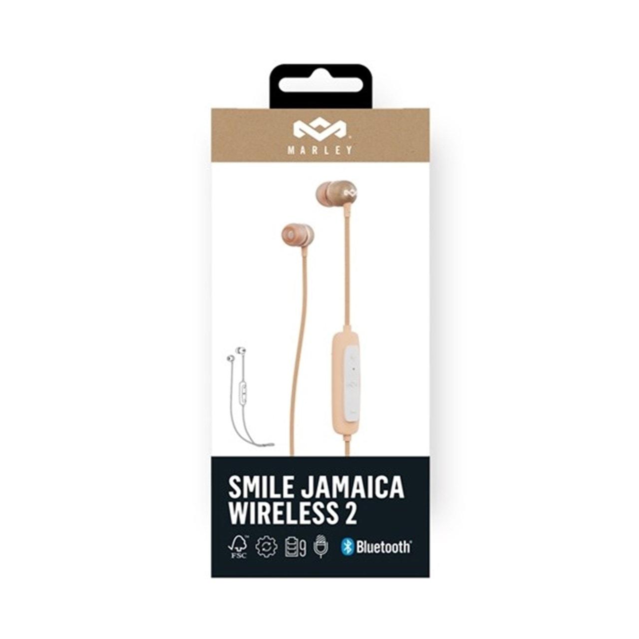 House Of Marley Smile Jamaica BT 2 Copper Bluetooth Earphones - 4