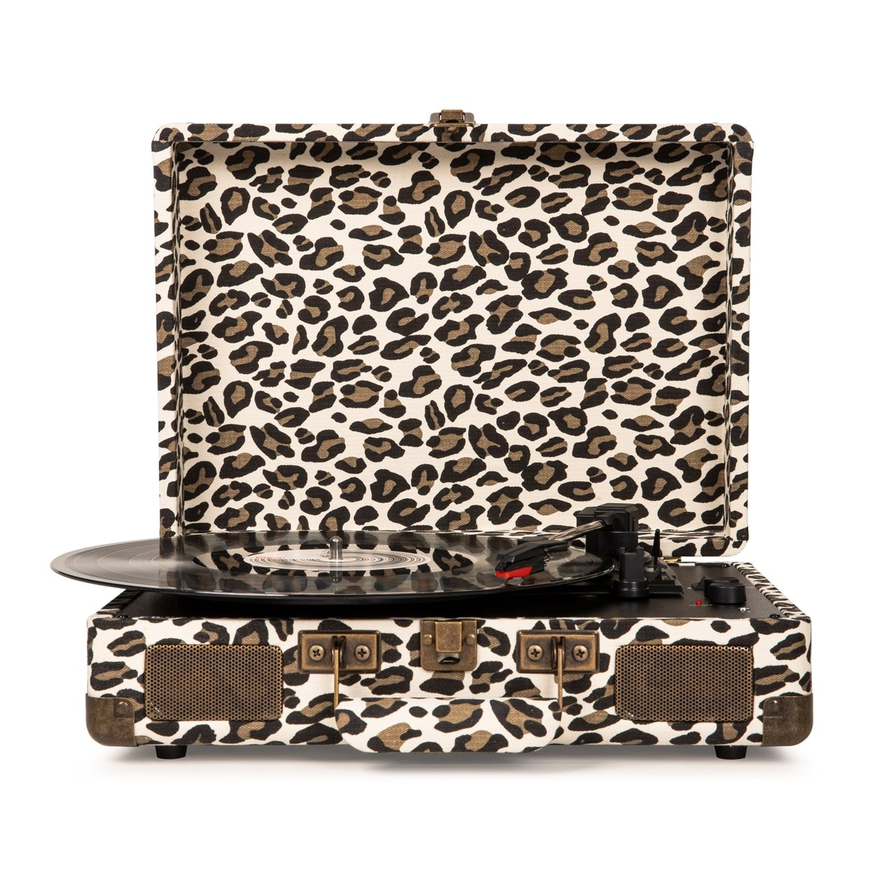 Crosley Cruiser Deluxe Leopard Turntable - 2