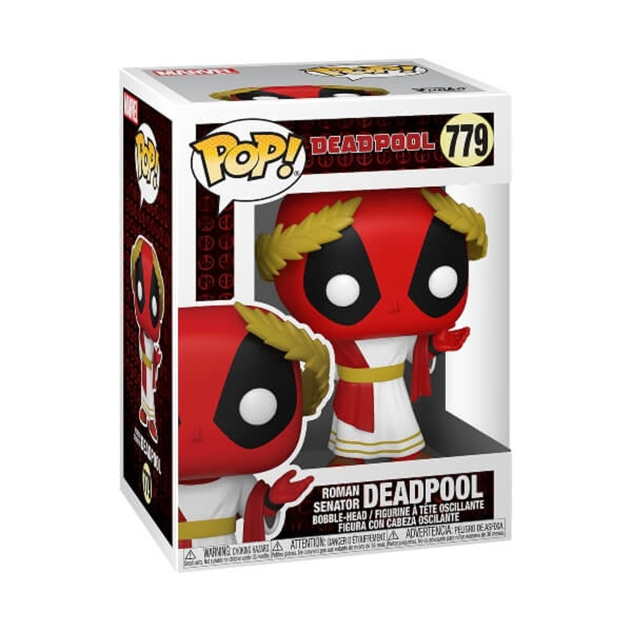 Roman Senator (779) Deadpool 30th Marvel Pop Vinyl - 2