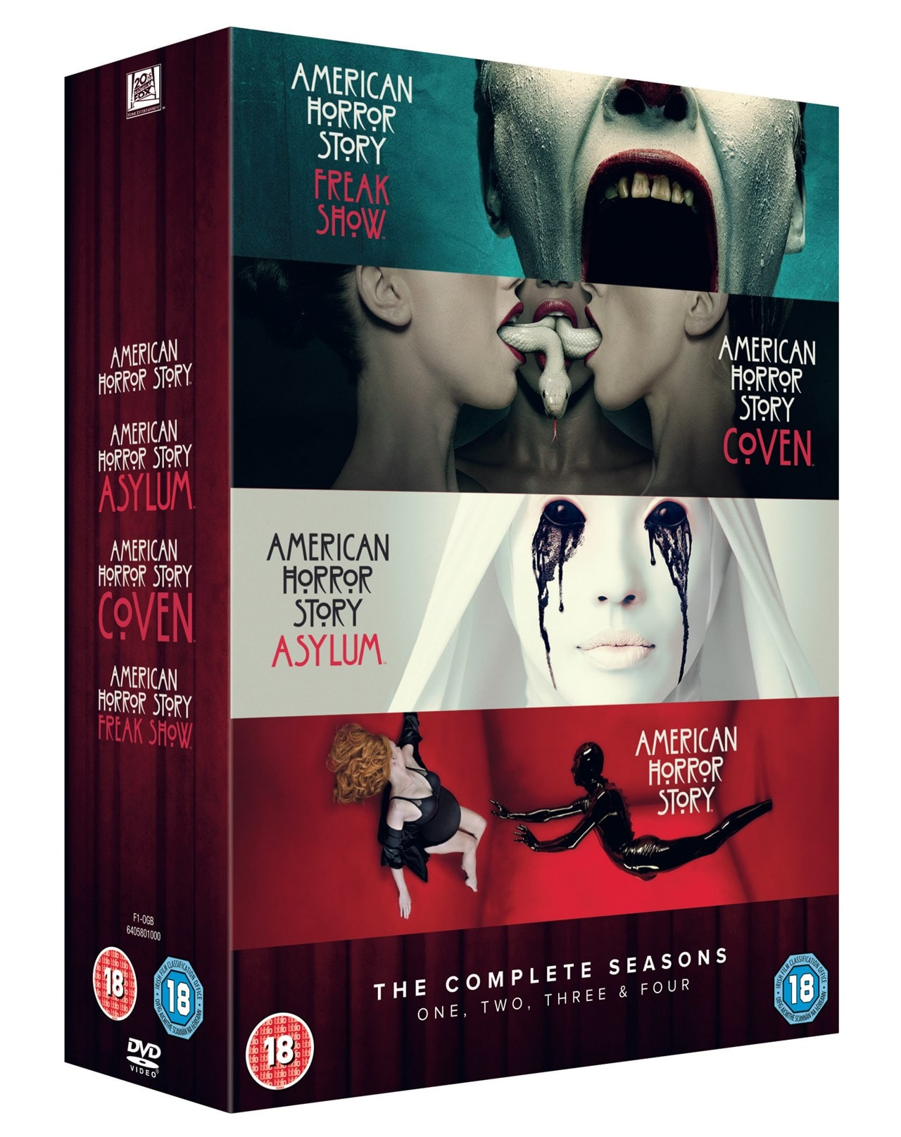 American Horror Story: Complete Seasons One, Two, Three & Four - 1