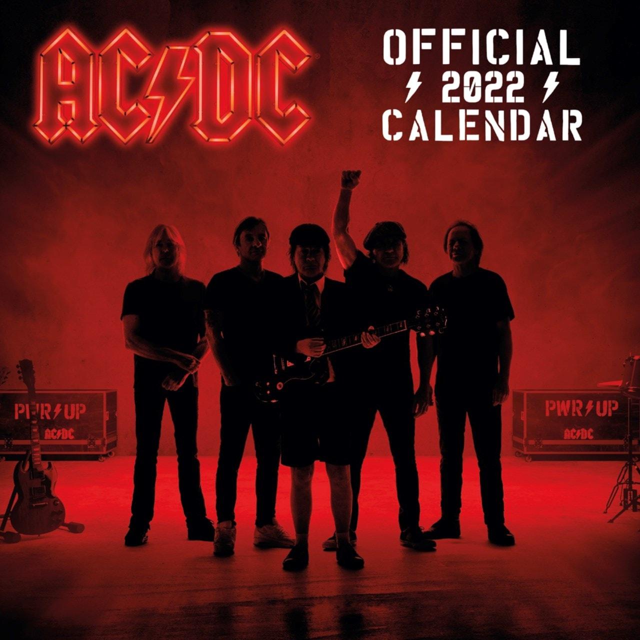 AC/DC: Square 2022 Calendar - 1