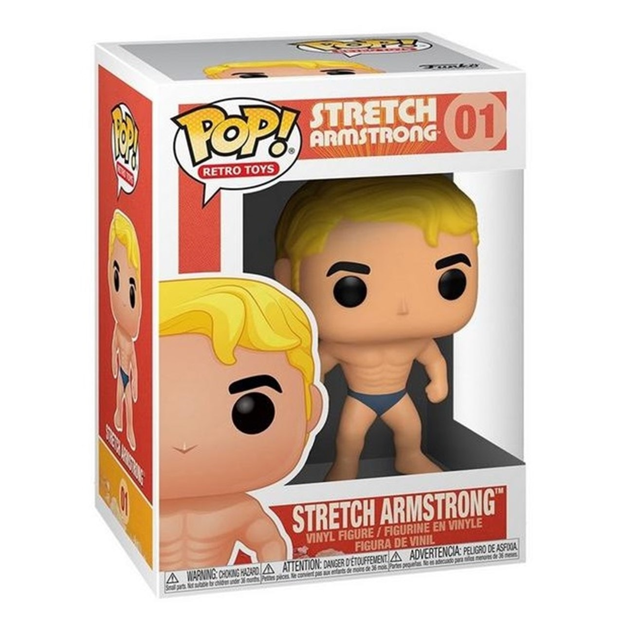 Stretch Armstrong (01) Hasbro Pop Vinyl (with Stretched Arms Chase) - 2