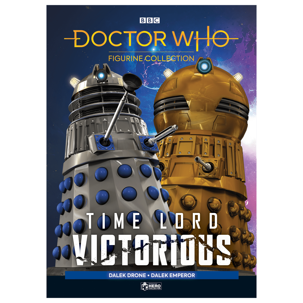 Doctor Who: Dalek Drone and Dalek Emperor Figurine Set: Hero Collector - 6