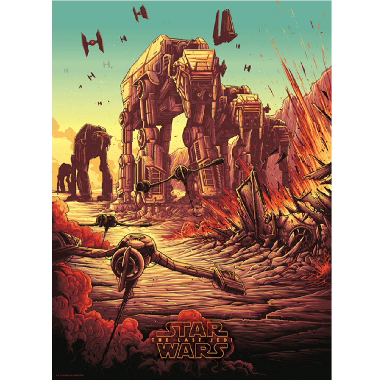 Star Wars: Spark That Will Ignite The Fire: Limited Edition Art Print - 1