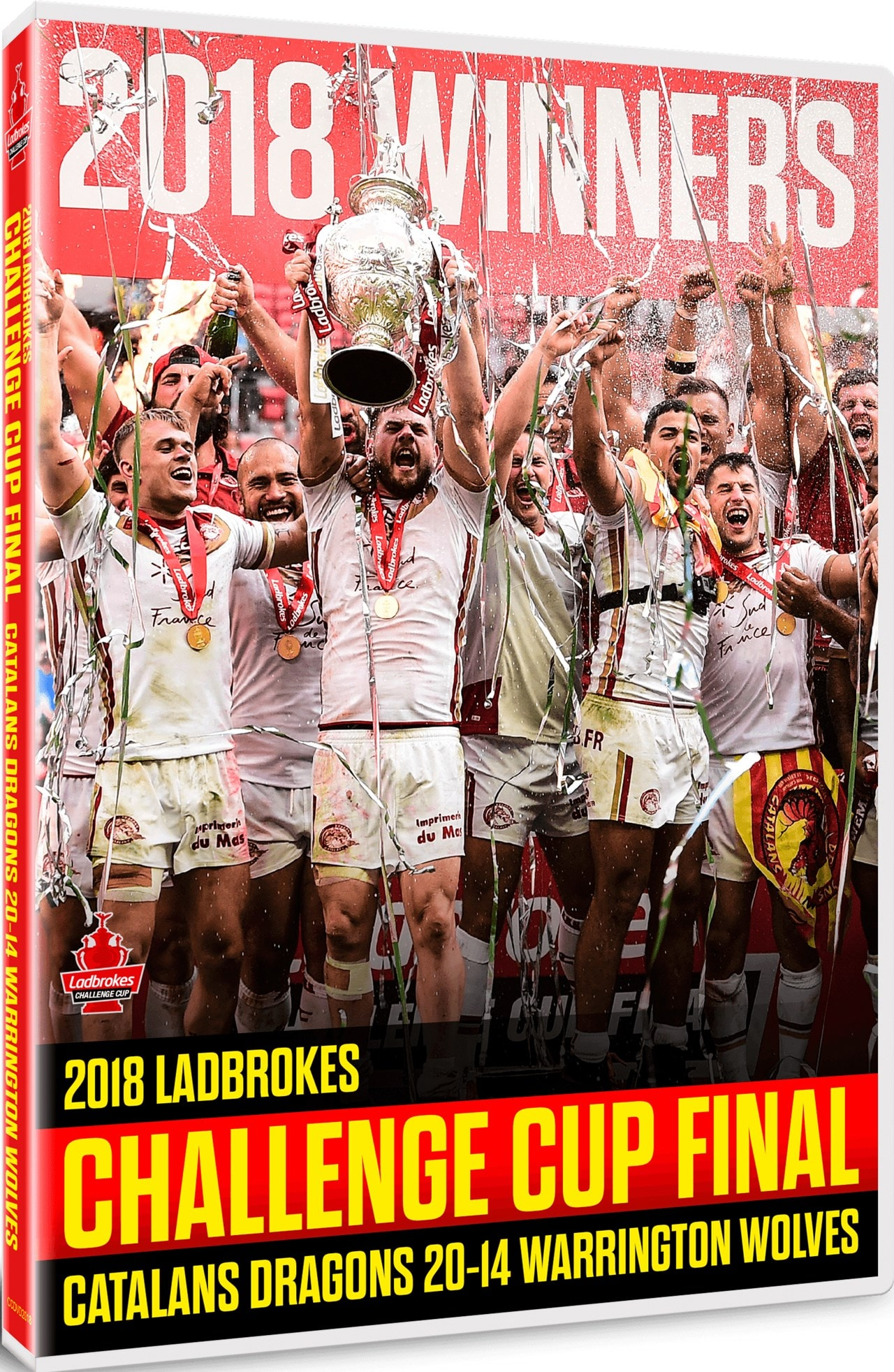 2018 Ladbrokes Challenge Cup Final - Catalans Dragons V... - 2