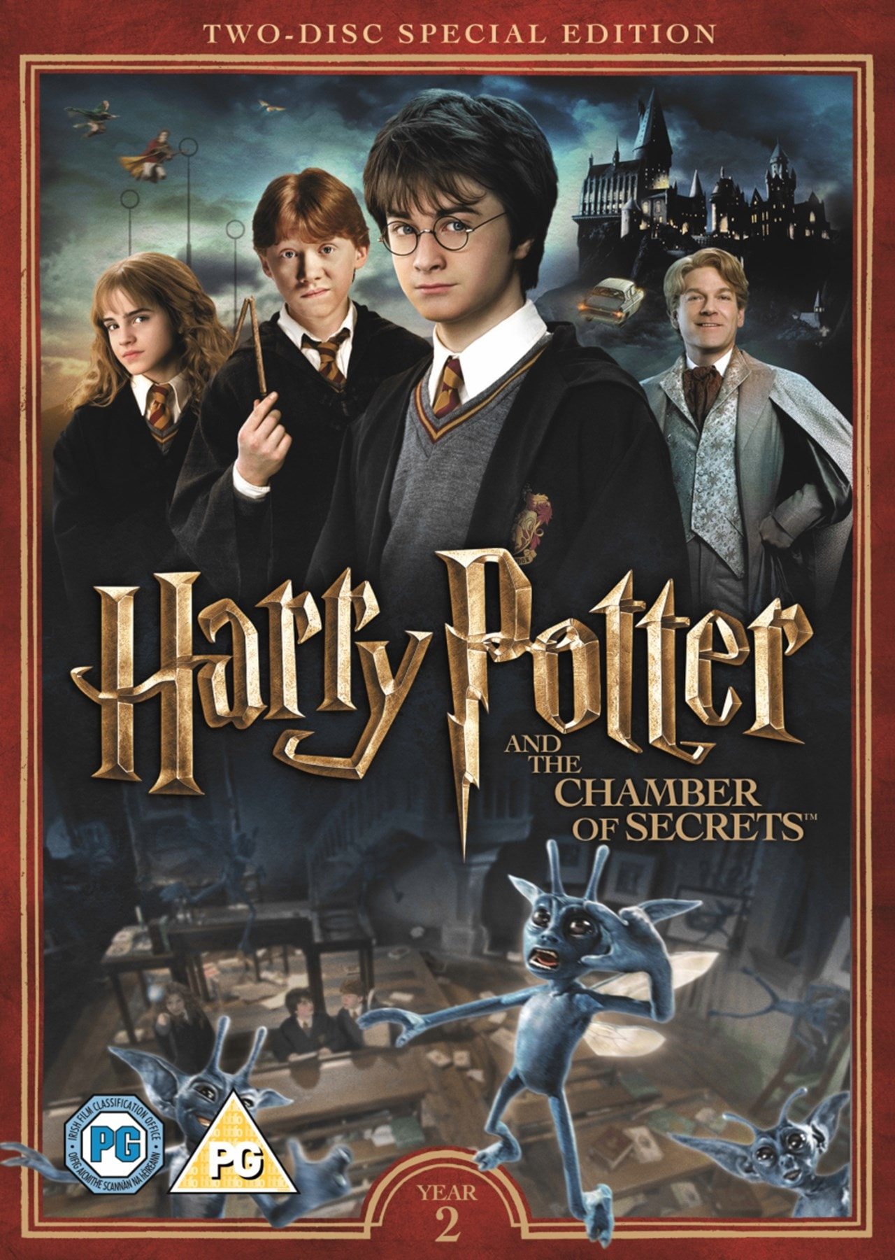 Harry Potter and the Chamber of Secrets - 1