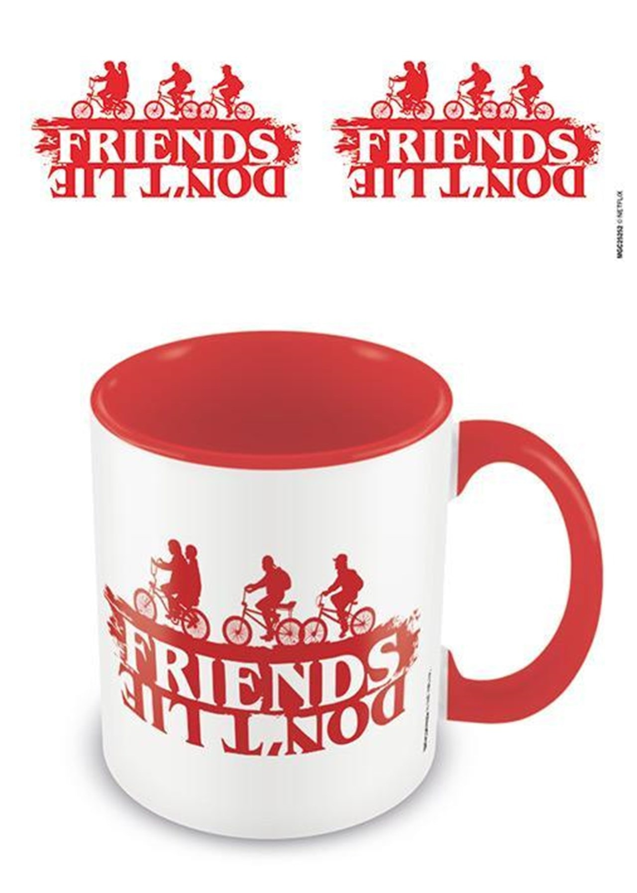 Stranger Things: Friends Don't Lie Coloured Inner Mug - 1