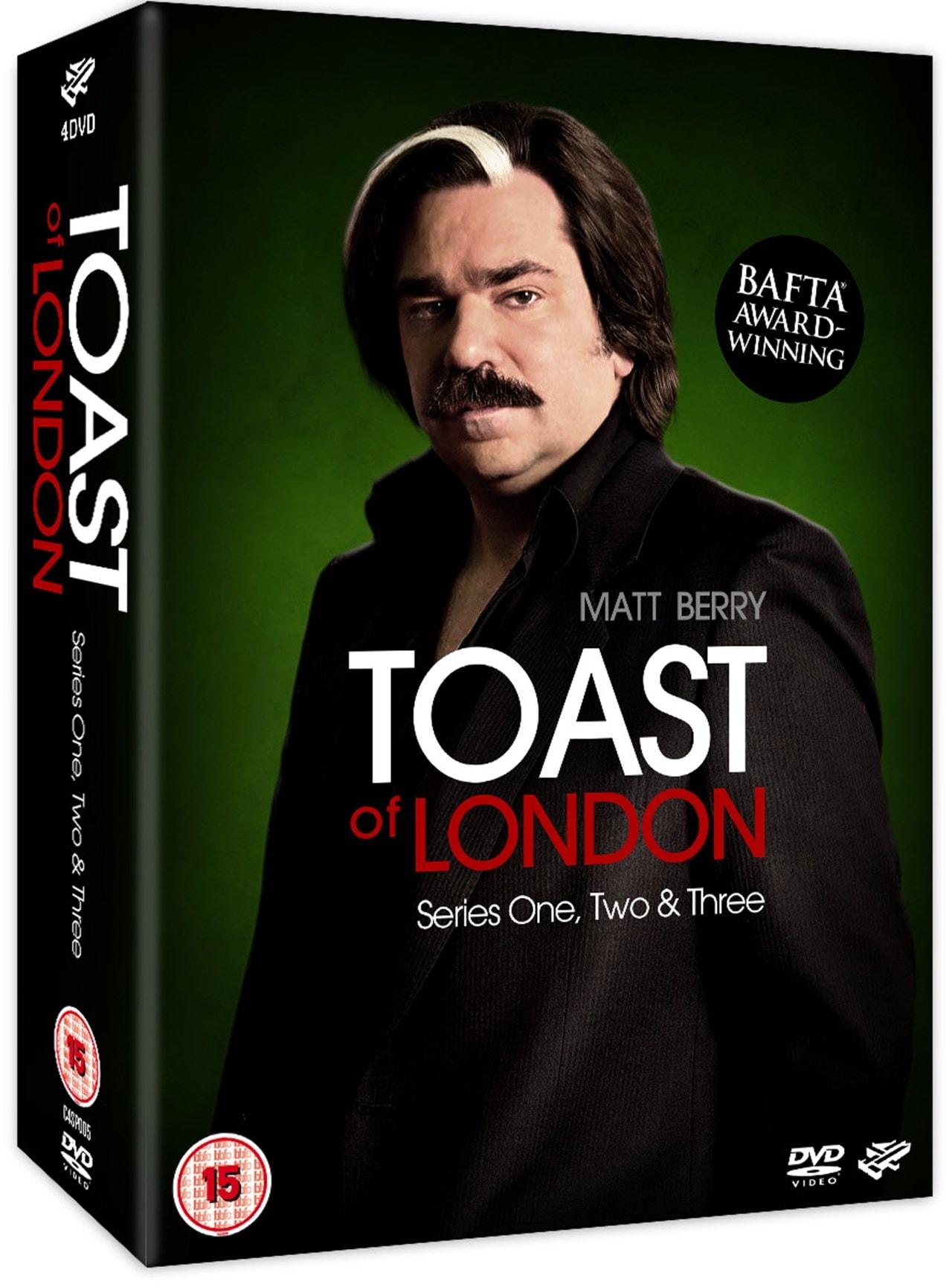 Toast of London: Series 1-3 - 2