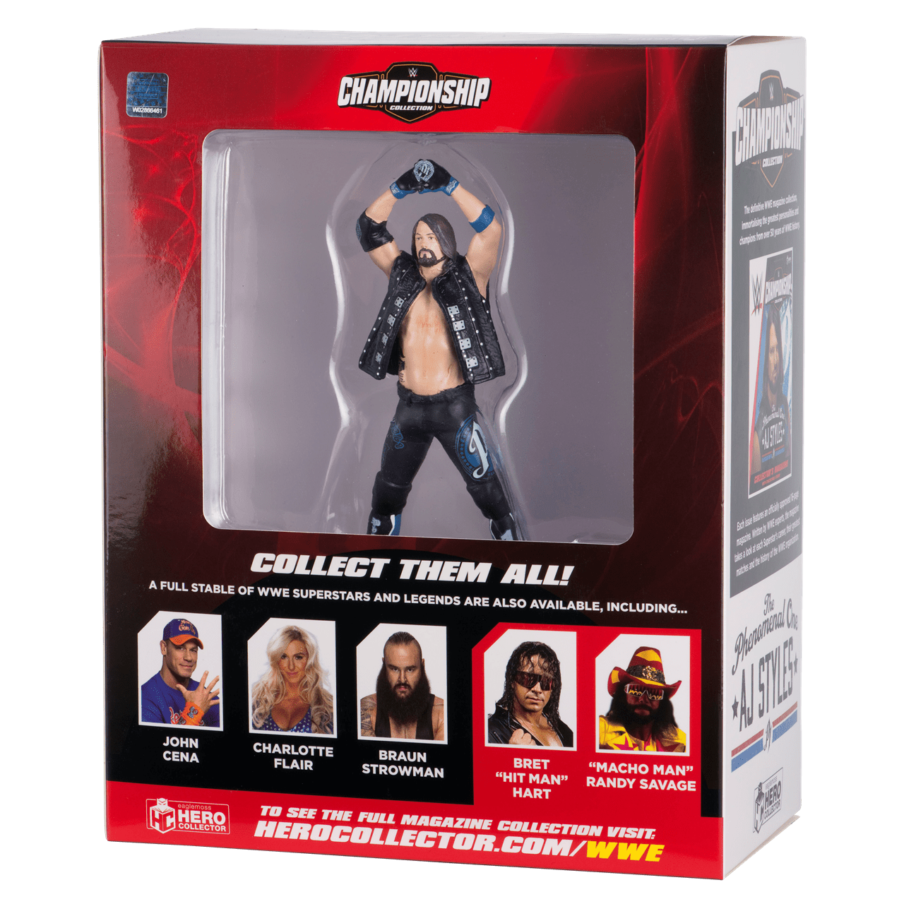 AJ Styles: WWE Championship Figurine: Hero Collector - 5