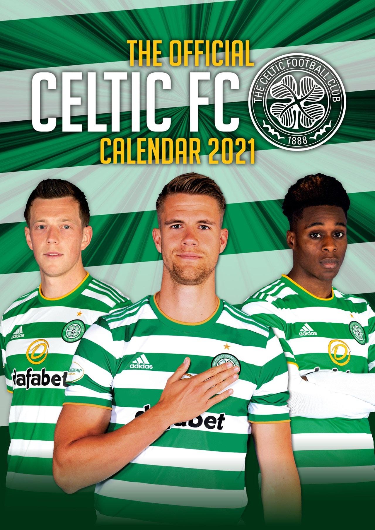 Celtic FC: Football A3 2021 Calendar - 1