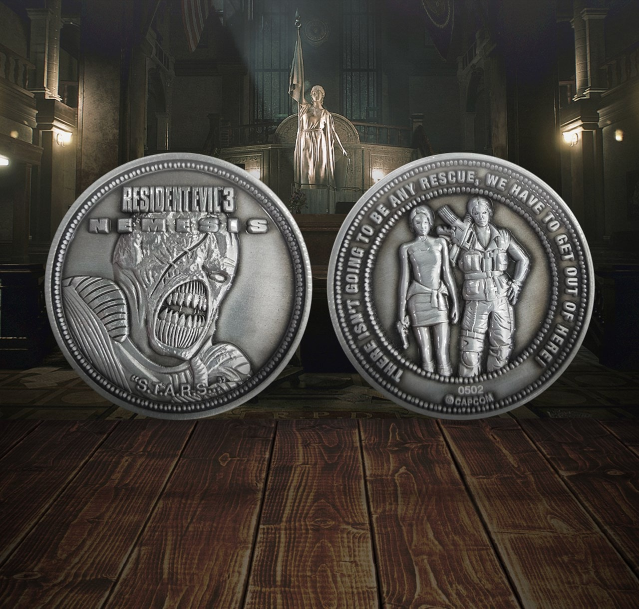 Resident Evil 3: Limited Edition Coin - 1