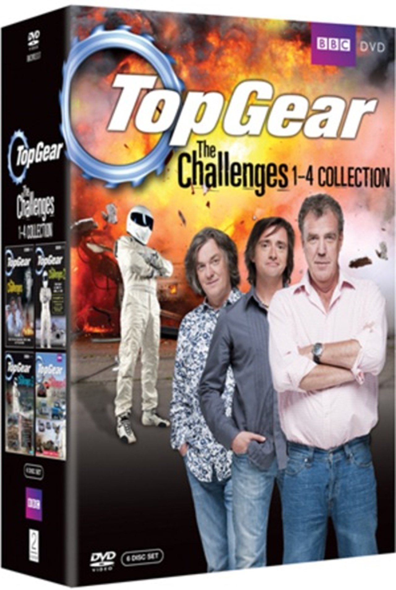 Top Gear - The Challenges: Volumes 1-4 - 1