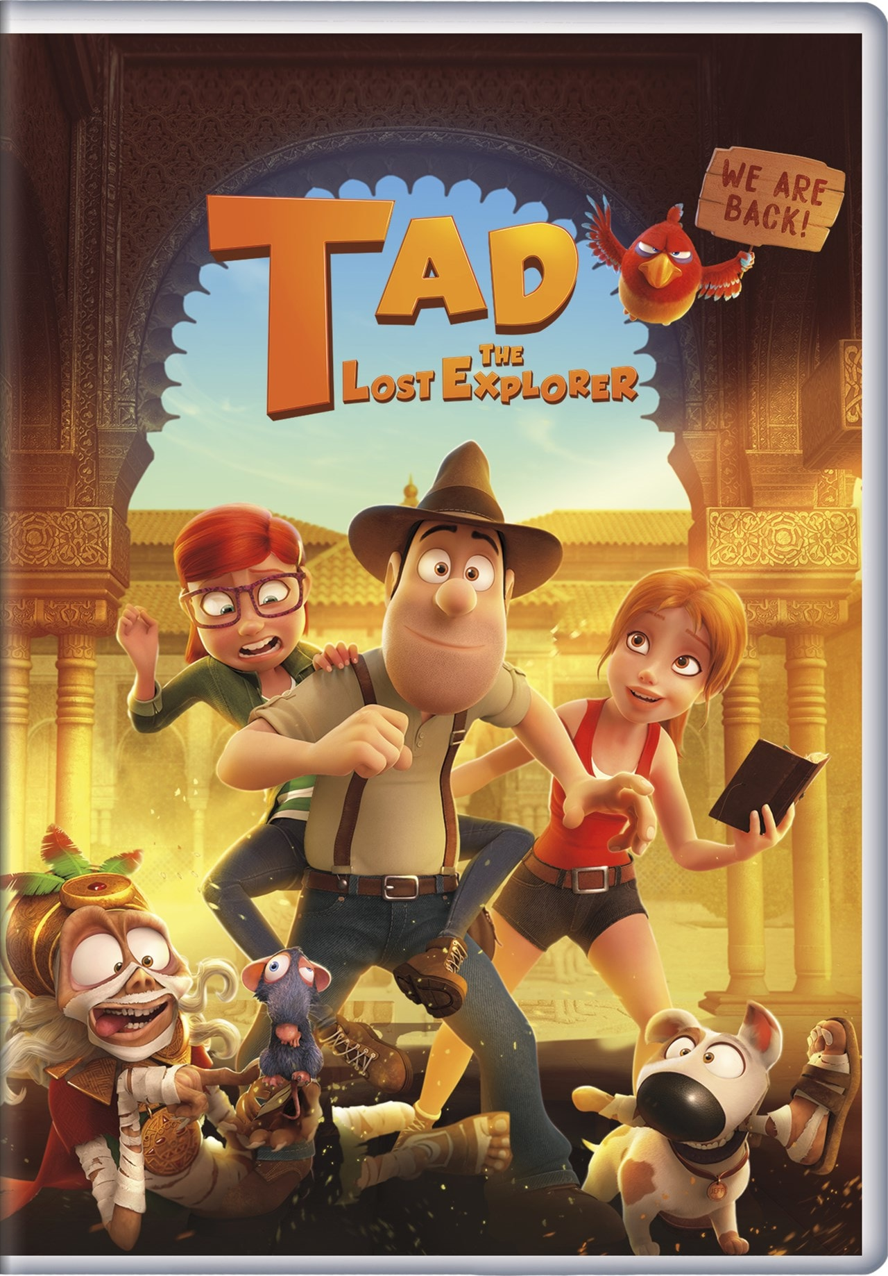 Tad the Lost Explorer and the Secret of King Midas - 1