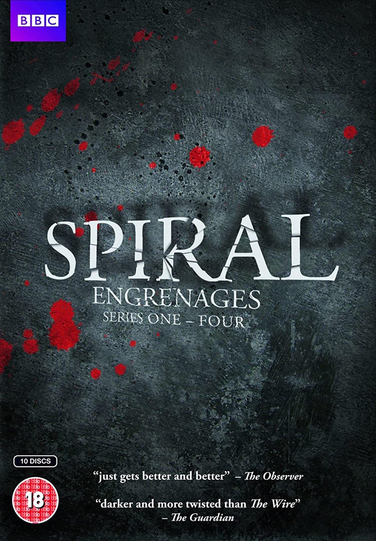 Spiral: Series 1-4 - 1