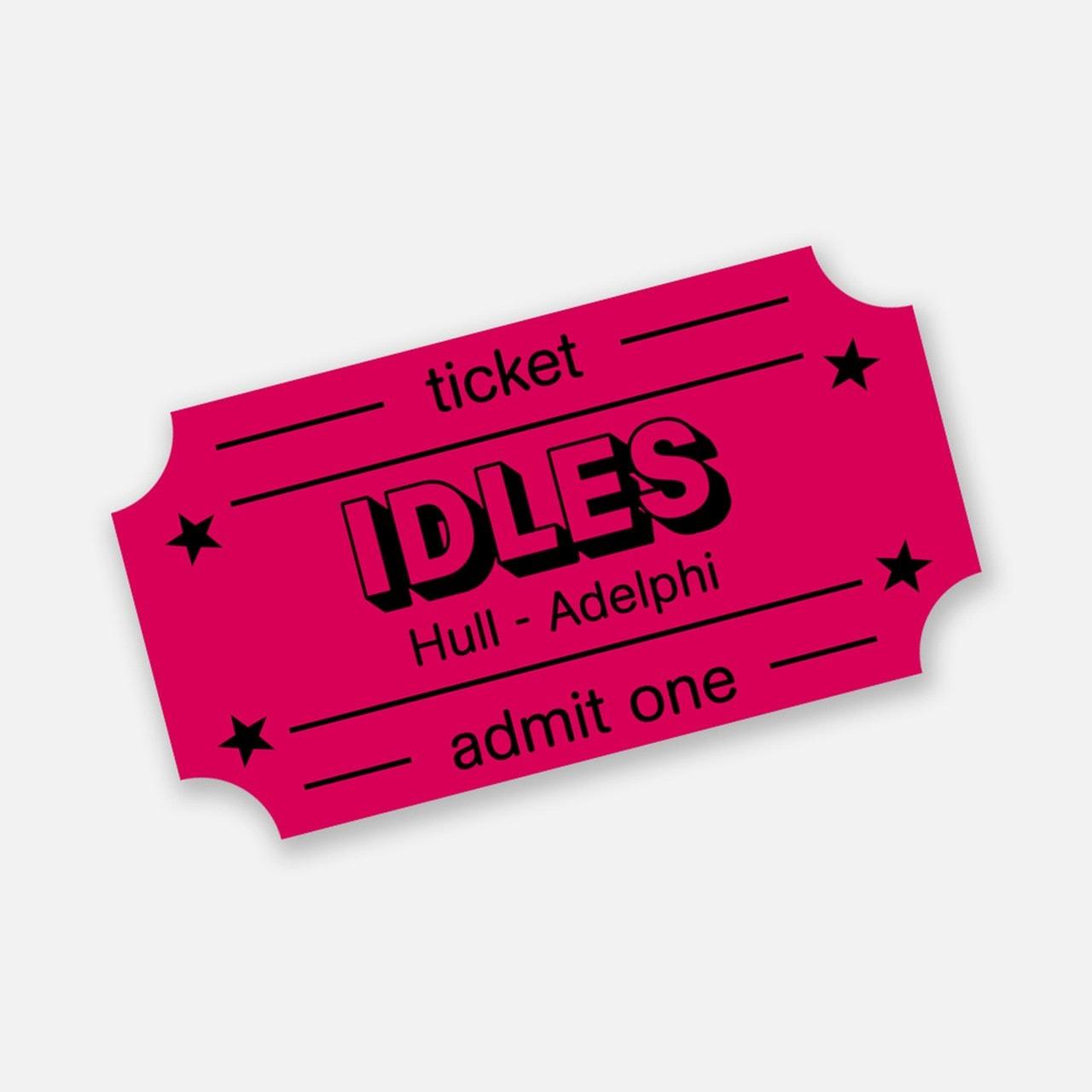 Idles - Ultra Mono - Hull Adelphi e-Ticket - 1