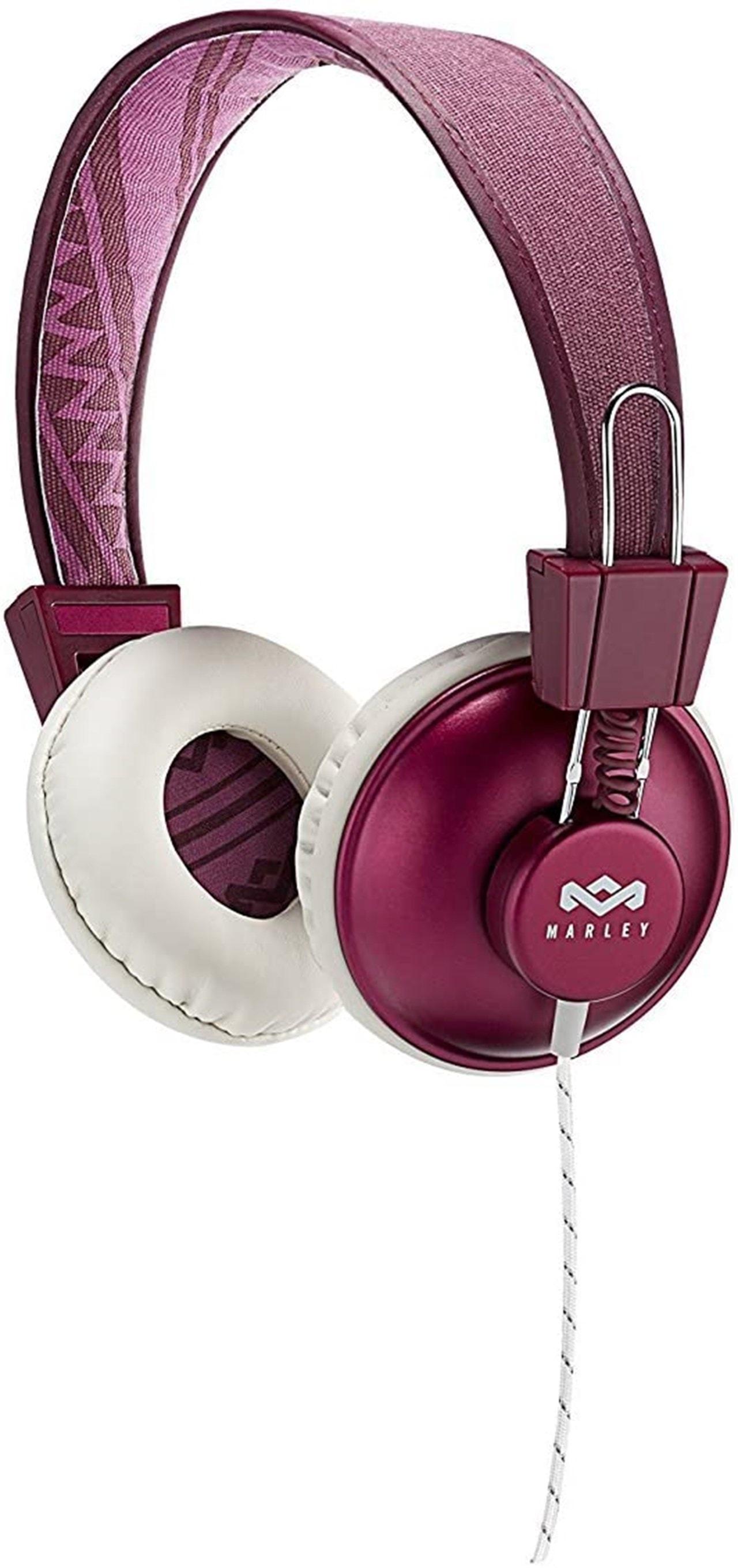 House Of Marley Positive Vibration Purple Headphones W/Mic (hmv Exclusive) - 1