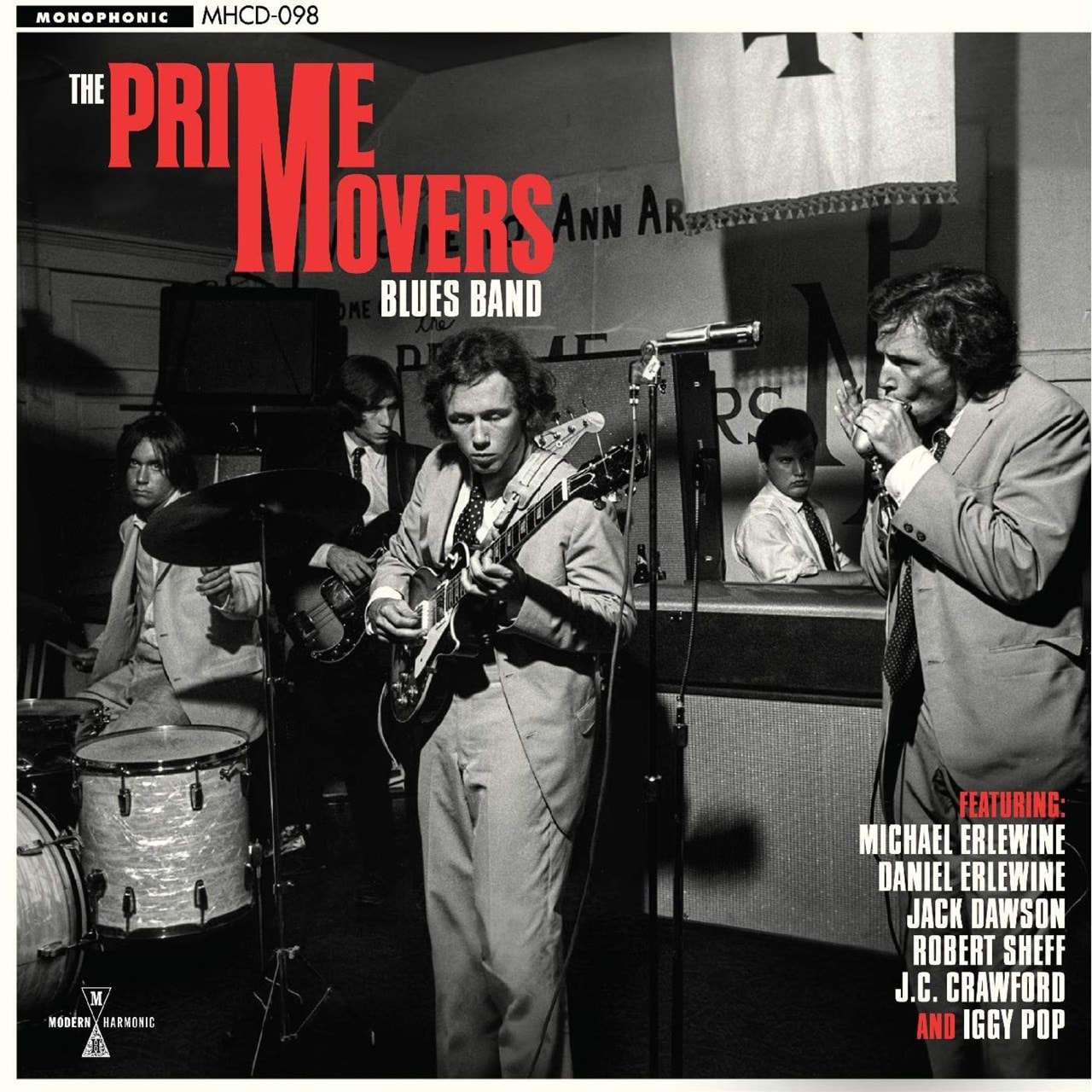 The Prime Movers Blues Band - 1