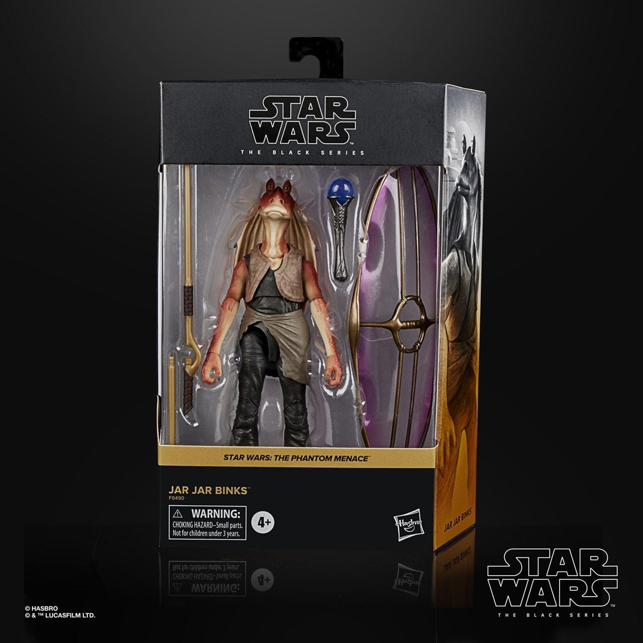 Jar Jar Binks: Deluxe: The Black Series: Star Wars Action Figure - 6