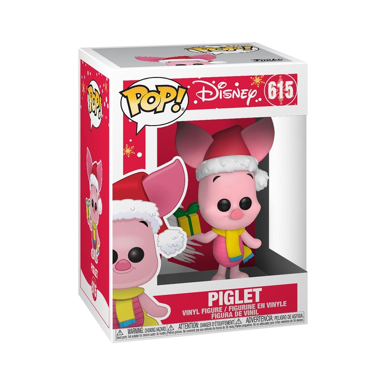 Holiday Piglet (615) Winnie The Pooh: Disney Pop Vinyl - 2