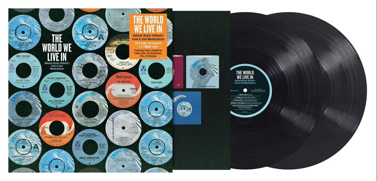 The World We Live In: Holland-Dozier-Holland's Funk & Soul Masterpieces - 2