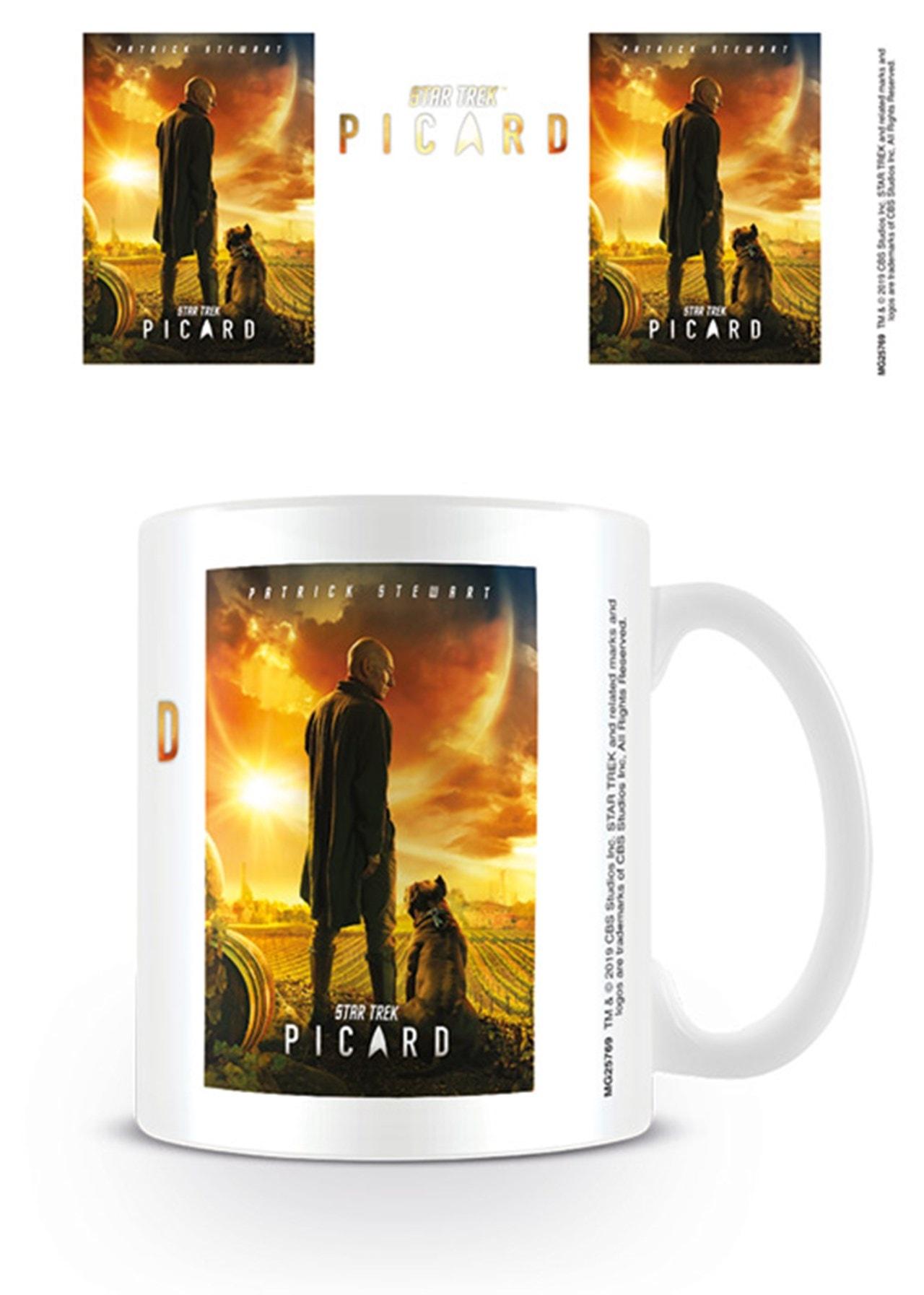 Mug: Star Trek: Picard: Picard Number One - 1