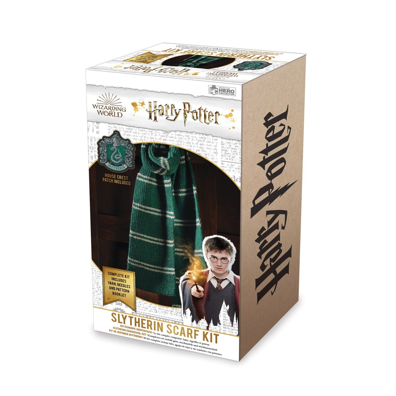 Slytherin House Scarf: Harry Potter Knit Kit - 5