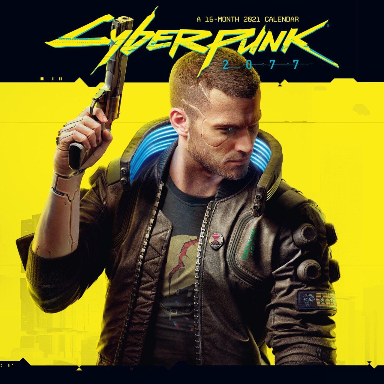 Cyberpunk: Square 2021 Calendar - 1