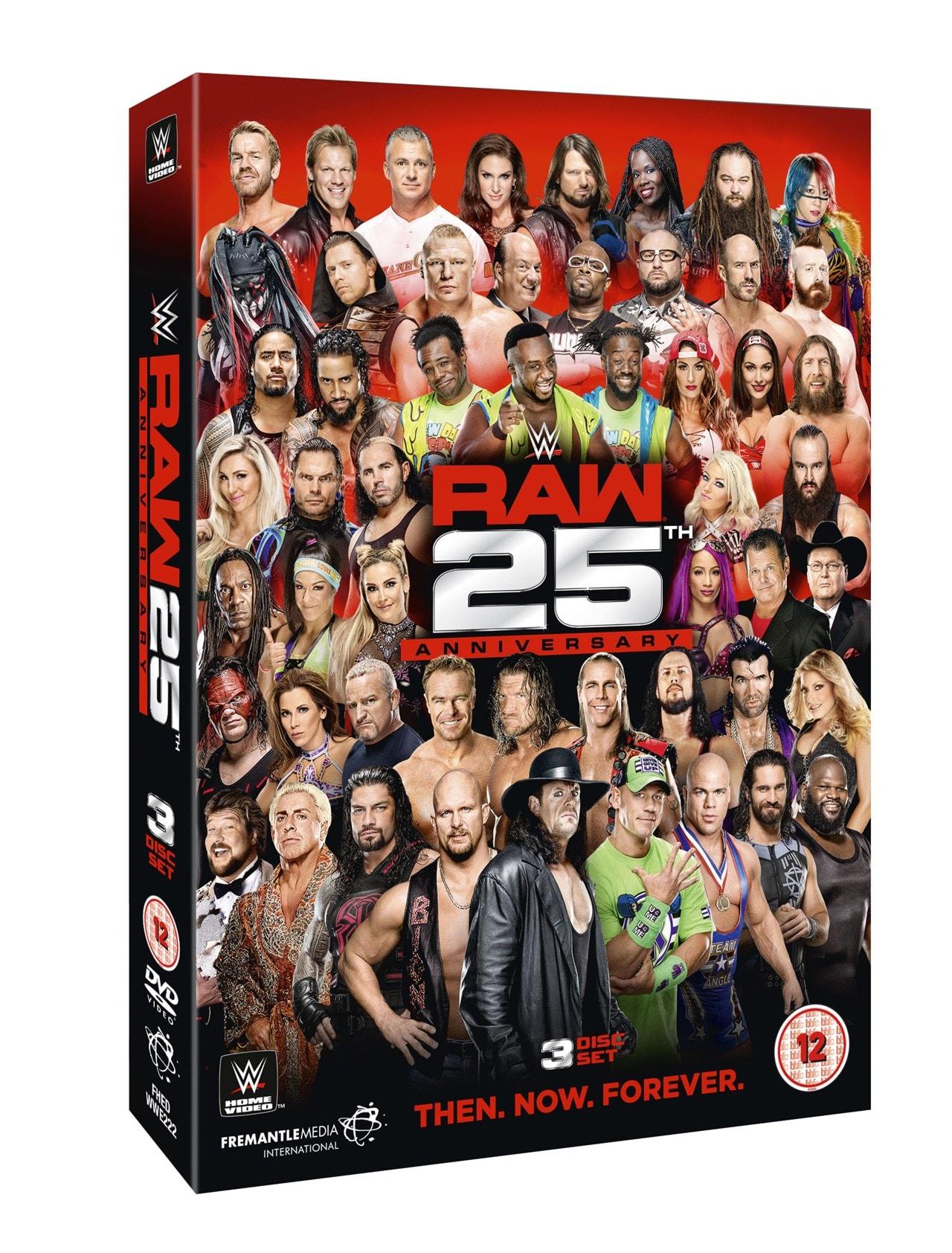 WWE: Raw - 25th Anniversary - 2
