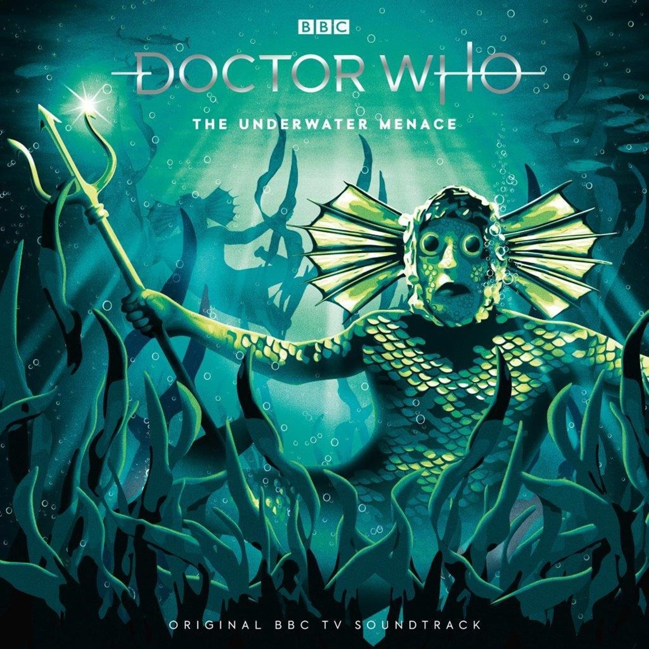 Doctor Who - The Underwater Menace - Volcanic Vinyl - 1