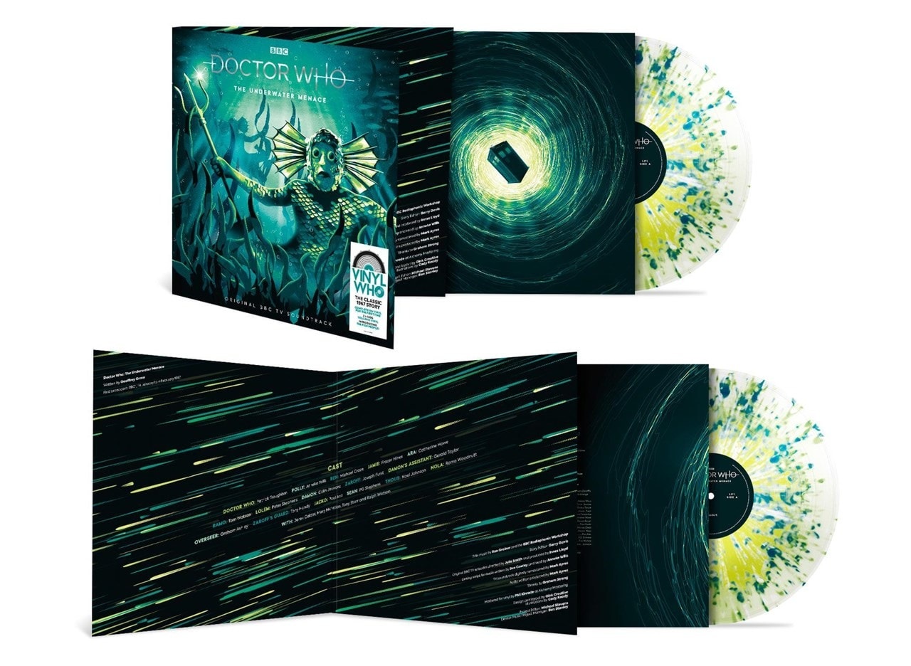 Doctor Who - The Underwater Menace - Volcanic Vinyl - 2