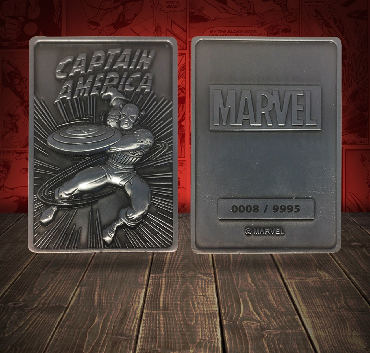 Captain America: Marvel Limited Edition Ingot Collectible - 4