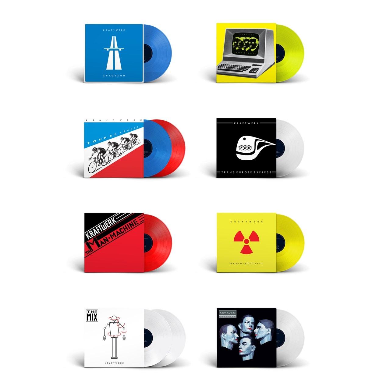 The Studio Albums - Coloured Vinyl 8 Album Bundle - 1
