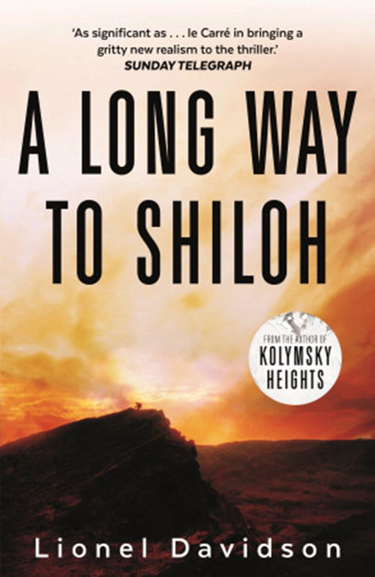 A Long Way to Shiloh - 1